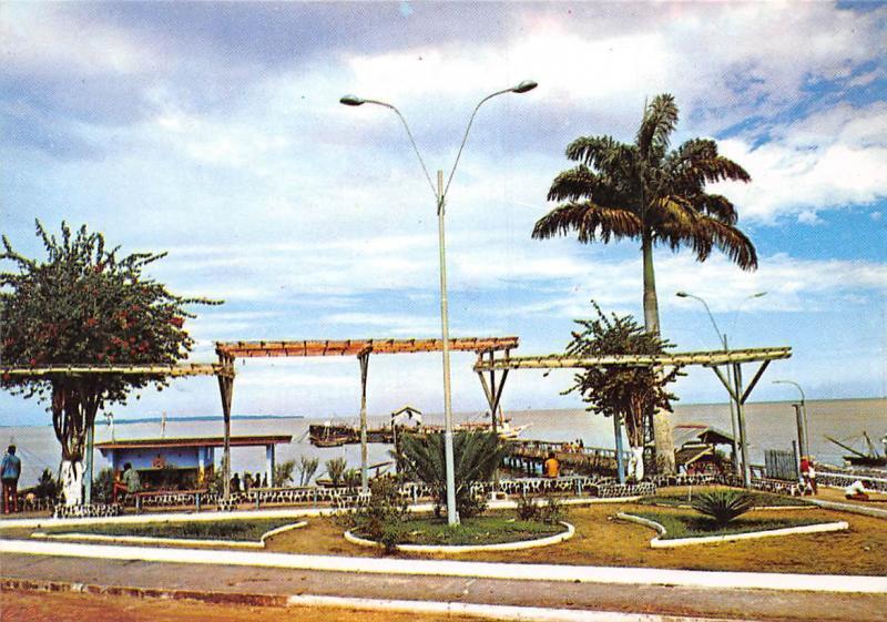 Bresil Brazil Belem Ilha do Mosqueiro Praca da Vila Mosqueiro Island Square