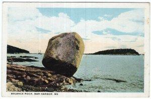 Bar Harbor, Me, Balance Rock