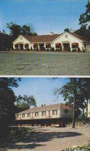 Pennsylvania Hazleton Front And Rear View Of Motel Gus Genetti Inc Hotel And ...