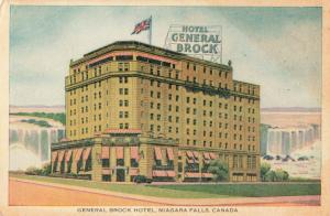 Postcard General rock Hotel Niagara Falls Canada