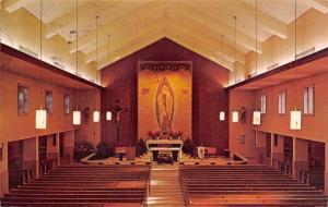 Shively Kentucky~St Helens Church Interior~Altar Society~1972 Postcard