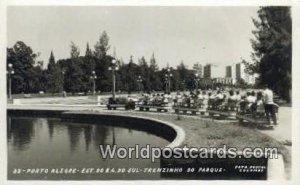 Est Do R.G. Do Sul, Trenzinho do Parque Porto Alegre Brazil, Brasil, Bresil W...