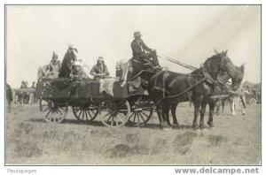 RPPC, Indians in Wagon; at a Rodeo?? Site Not Identified, AZO