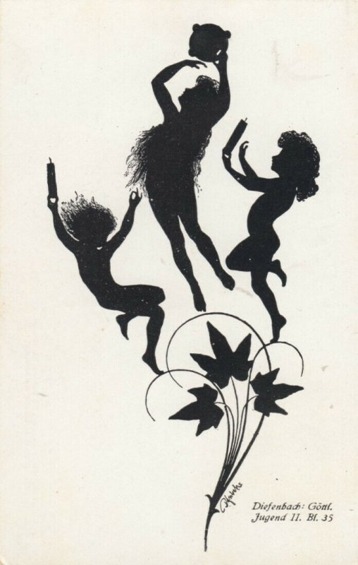 DIEFENBACH : Fantasy Silhouette , 00-10s ; Jugend II. Bl.35