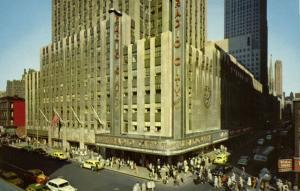 NEW YORK, N.Y., Radio City Music Hall, Theatre (1950s)