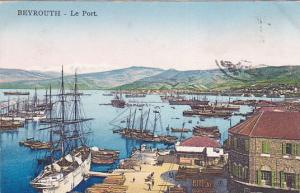BEYROUTH (Beruit) , Lebanon , 1900-10s ; Le Port View #2