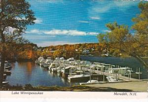 New Hampshire Meredith Lake Winnipesaukee BOat Dock