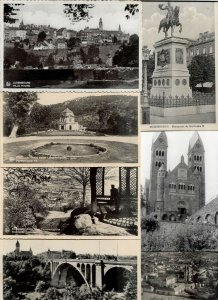 Luxembourg Pfaffenthal Echternach And More Lot of 17 Postcards 01.07