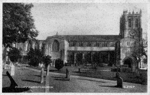 Priory Christchurch Cemetery Postcard