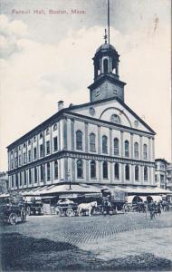 Massachusetts Boston Faneuil Hall 1911