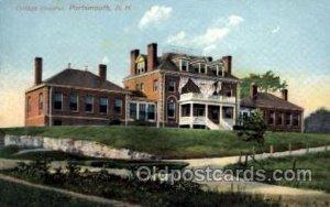 Cottage Hospital, Portsmouth, New Hampshire, NH, USA Medical Hospital Unused ...