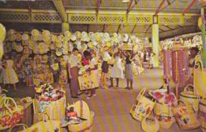 Jamaica Kingston Straw Section Of Victoria Crafts Market