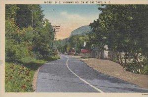 North Carolina Asheville U S Highway No 74 At Bat Cave