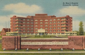 EVANSVILLE, Indiana, 1930-40s; St. Mary's Hospital