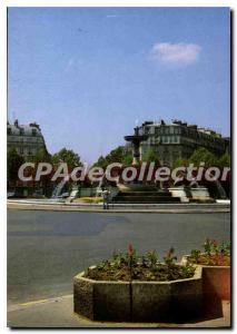 Modern Postcard Paris Place Felix Eboue