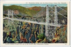 Worlds Highest Bridge, Canon City CO