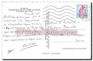Old Postcard Folklore De La Cote D'Opale The Review Of Tenderloin