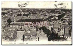 Old Postcard Panorama Nantes
