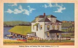 Fallsburg Fishing & Boating Club - South Fallsburg, New York