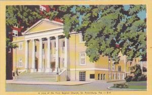 Florida St Petersburg First Baptist Church Dexter Press
