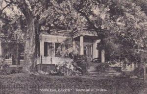 Greenleaves Natchez Mississippi 1948
