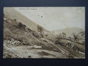 Wales PRESTATYN Mountain Path c1927 Postcard By F. Summerskill of Prestatyn