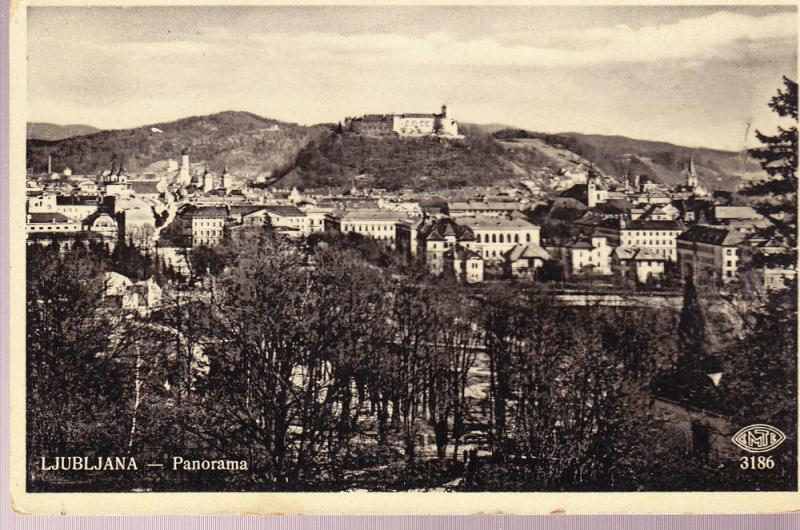 Ljubljana (Laibach) Panorama Photo View