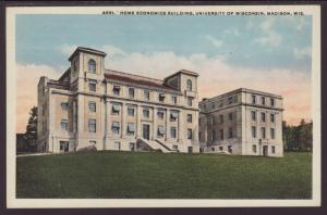 Home Economics,University of Wisconsin,Madison Postcard