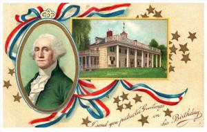 George Washington    Patriotic Greetings