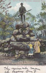 Captain Parker Monument, Lexington Massachusetts 1905