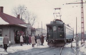 PORT STANLEY , Ontario , Canada , 1983 ; Train at Railroad Depot