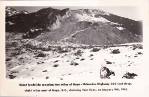 RP: HOPE , B.C. , Canada , 30-40s ; Giant Landslide #3