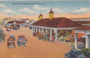 Louisiana New Orleans The French Market Curteich