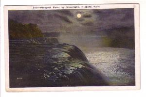 Prospect Point by Moonlight, Niagara Falls, New York,