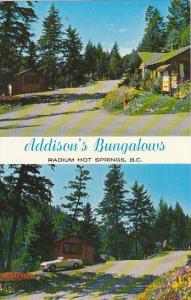 Canada Addison's Bungalows Radium Hot Springs British Columbia