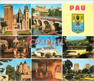 Postcard Modern Pau (Pyrenees Atlantiques) The Pyrenees Colors and Light of F...