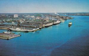 HALIFAX, Nova Scotia, Canada, 1940-1960's; The Port Of Halifax