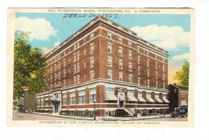 Geroge Washington Hotel, Winchester, Virginia, 1910-1920s