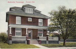 FOREST , Ontario , 1914 ; Methodist Parsonage