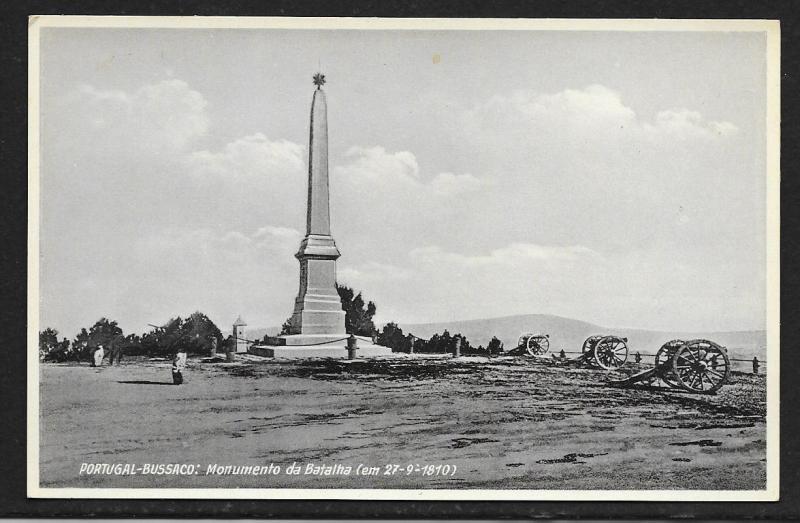 Bussaco Portugal Battle Monument Unused c1920s