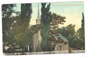 Exterior, Old French Church, Grand Pre, N.S., Canada, 00-10s