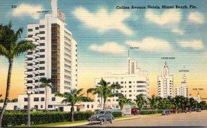 Florida Miami Beach Hotels On Collins Avenue
