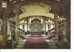 Postal 041440 : Palau de la Musica Catalana. Entrada principal. Barcelona. Ar...