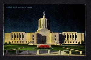 OR Oregon State Capitol Salem Oregon Postcard Carte Postale PC