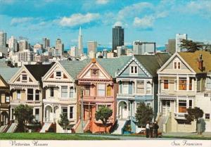 California San Francisco Victorian Houses