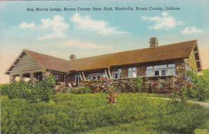 Indiana Nashville Abe Martin LOdge Brown County State Park Curteich