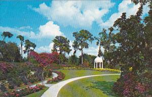 Gazebo and Rose Garden Cypress Gardens Florida
