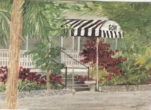 Grand Old House , Patra Plantation , Grand Cayman Island , B.W.I. , 1985