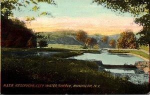 New York Randolph Reservoir City Water Supply 1911
