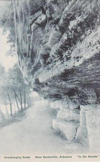 Arkansas Bentonville Overhanging Rocks  Albertype